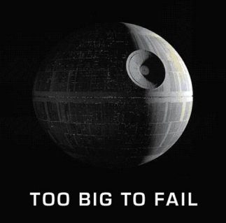 Too big to fail.  Or not.